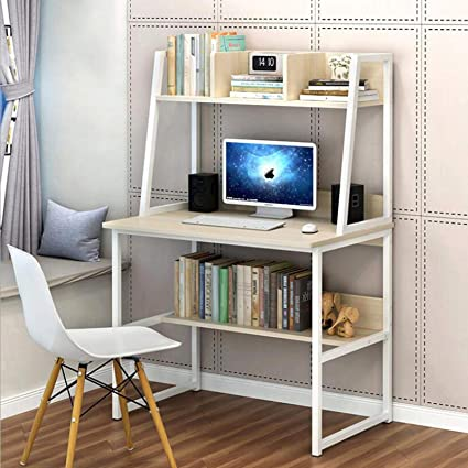 Amazon Com 31 5 Computer Desk With Hutch For Small Space