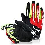 FREETOO Fahrradhandschuhe Rutschfeste und Stoßdämpfende Radsporthandschuhe Trainingshandschuhe Ideal Gloves für Radsport MTB Mountainbike Fitness