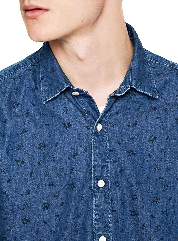 Pepe Jeans Harold Azul Hombre Camisa YWeED29HI