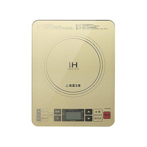 コイズミ IHクッキングヒーター KIH-1403/N
