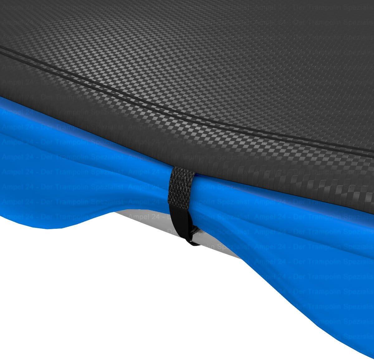 Black Ampel 24 Trampoline rain cover UV-resistant cover Weather-resistant cover for 8ft garden trampolines