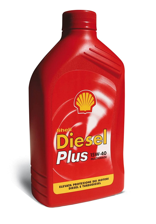 SHELL Olio Shell Diesel Plus 15W40 1 L. Lubrificanti Cura Auto Accessori
