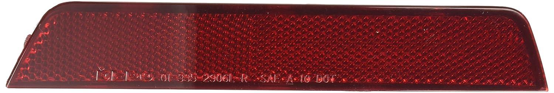 Depo 335-2906R-US Reflector CHEVROLET EQUINOX 10-14 REAR UNIT PASSENGER SIDE