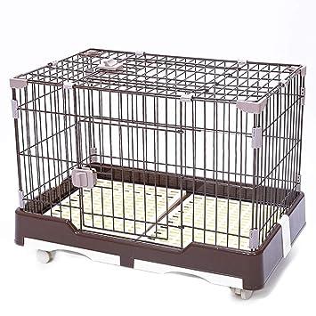 Cxjff For Mascotas, jaulas, cajón del Perro Trampa de Alambre de ...