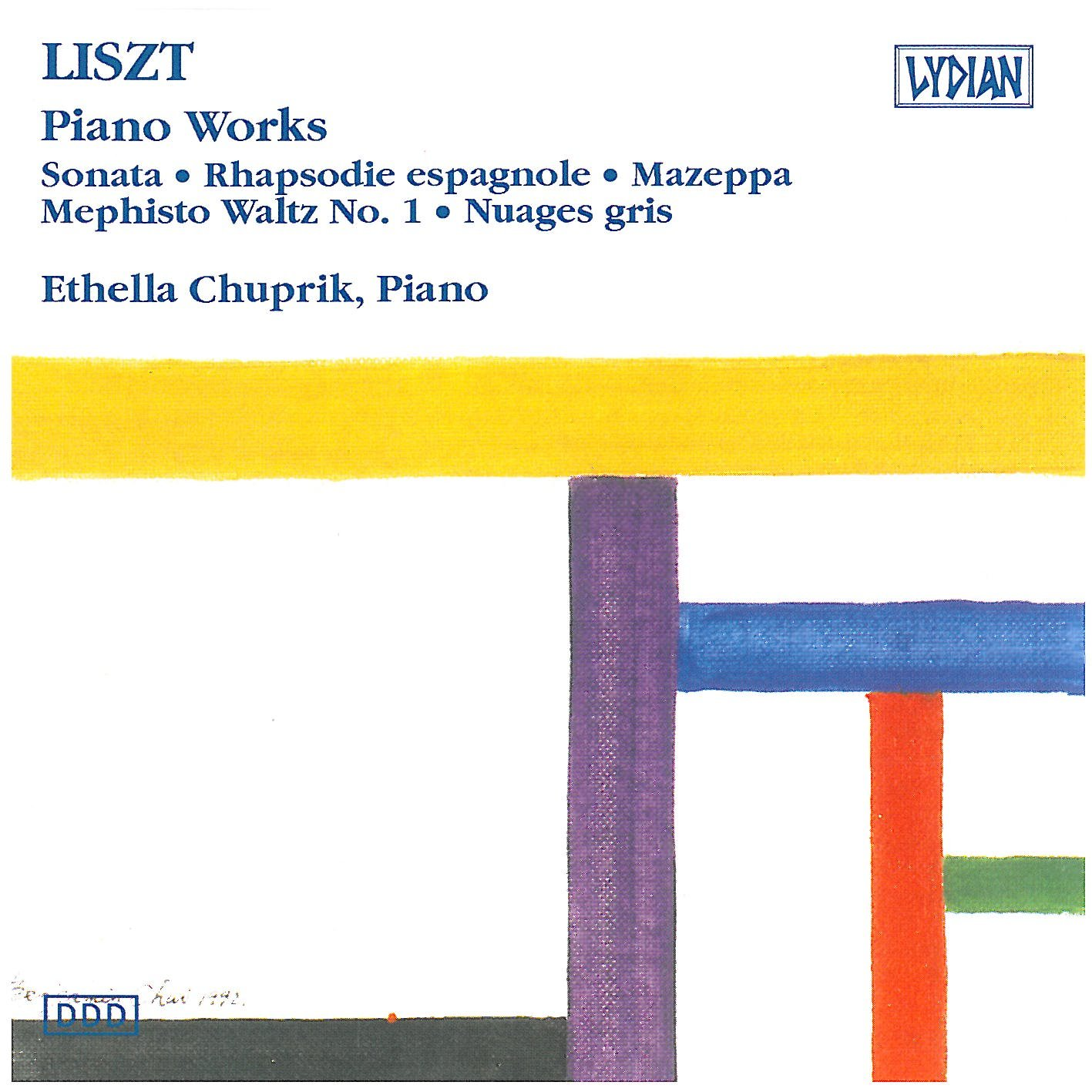 Franz Liszt: Klavierwerke: Ethella Chuprik, Franz Liszt: Amazon.es ...