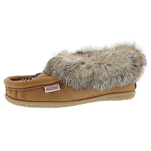 2754903253a0 SoftMoc Women s Cute 4 Rabbit Fur Beaded Moccasin  Amazon.ca  Shoes ...