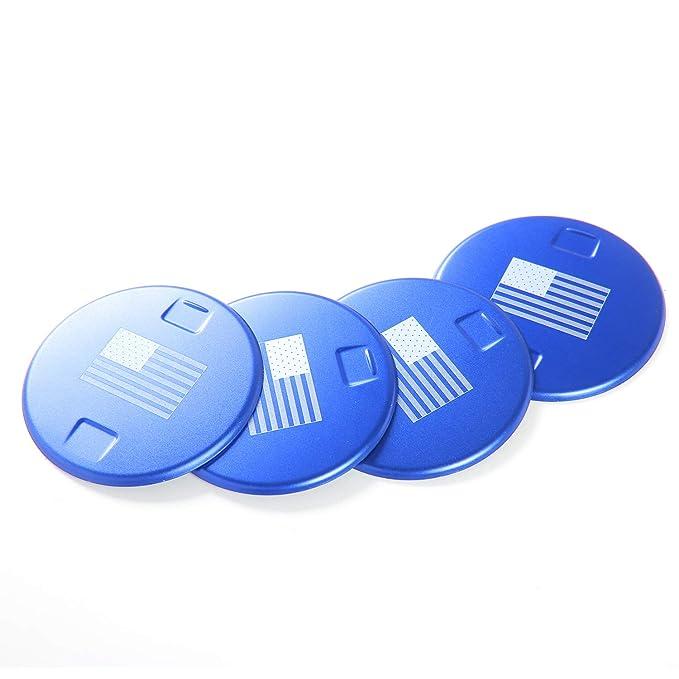 Amazon.com: JeCar – 4 piezas de aleación de aluminio para ...