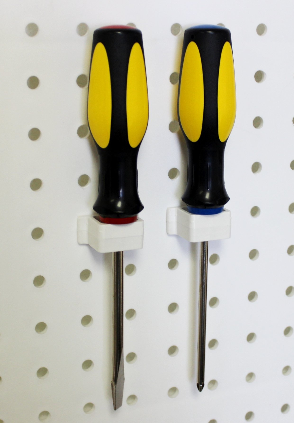 WallPeg 80 pc. Assorted White Peg Hooks - Garage Storage & Tool Organizer by WallPeg (Image #3)