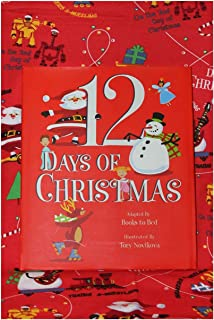 product image for Books to Bed 12 Days of Christmas Boys Blanket & Book Set