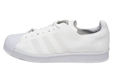 adidas Superstar Primeknit (With Boost) Mens In White/White, 8