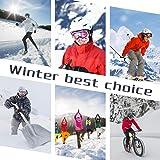 Fleece Neck Gaiter Warmer Balaclava Ski Mask Cold