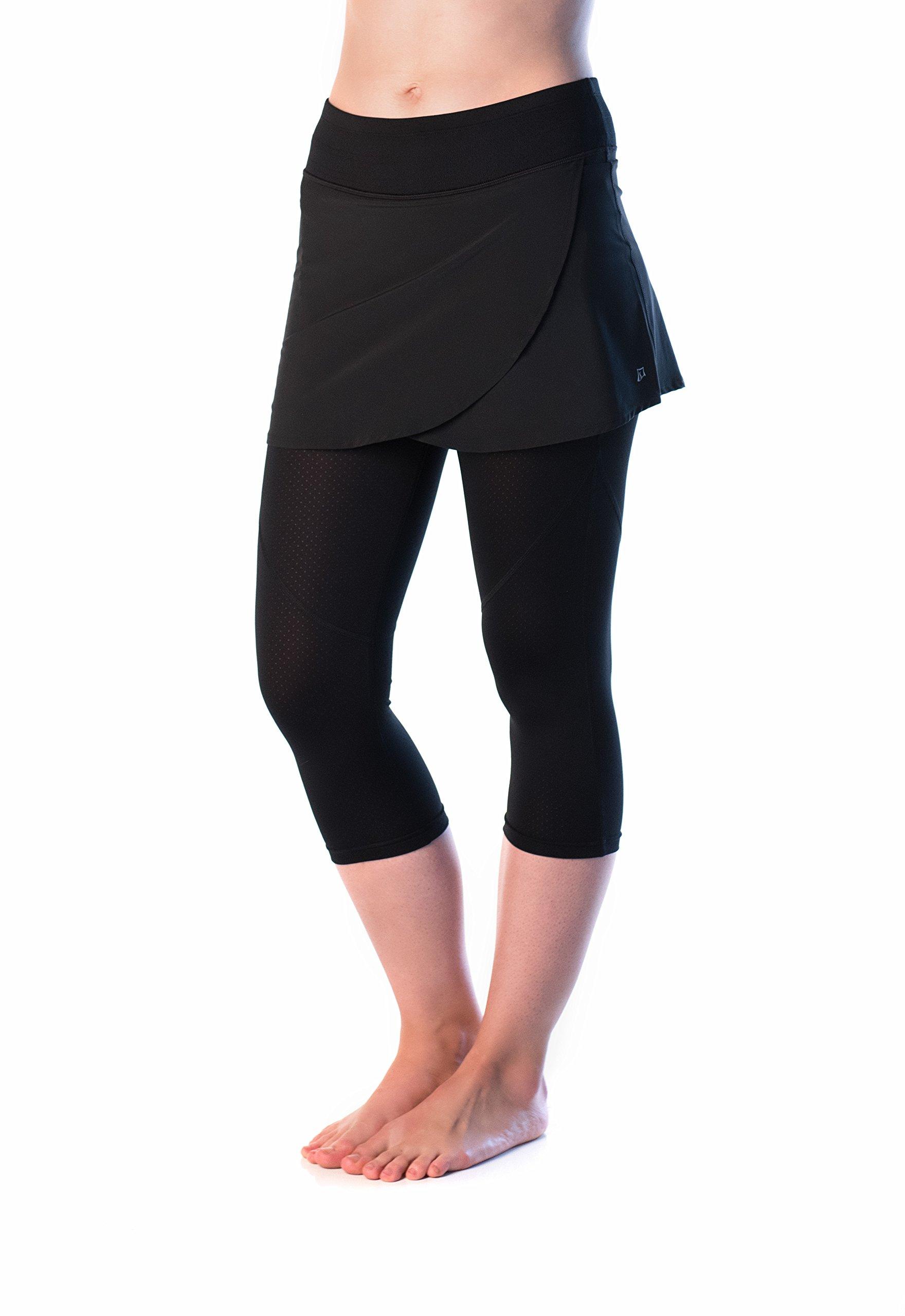 Skirt Sports Women's Hover Capri Skirt by Skirt Sports