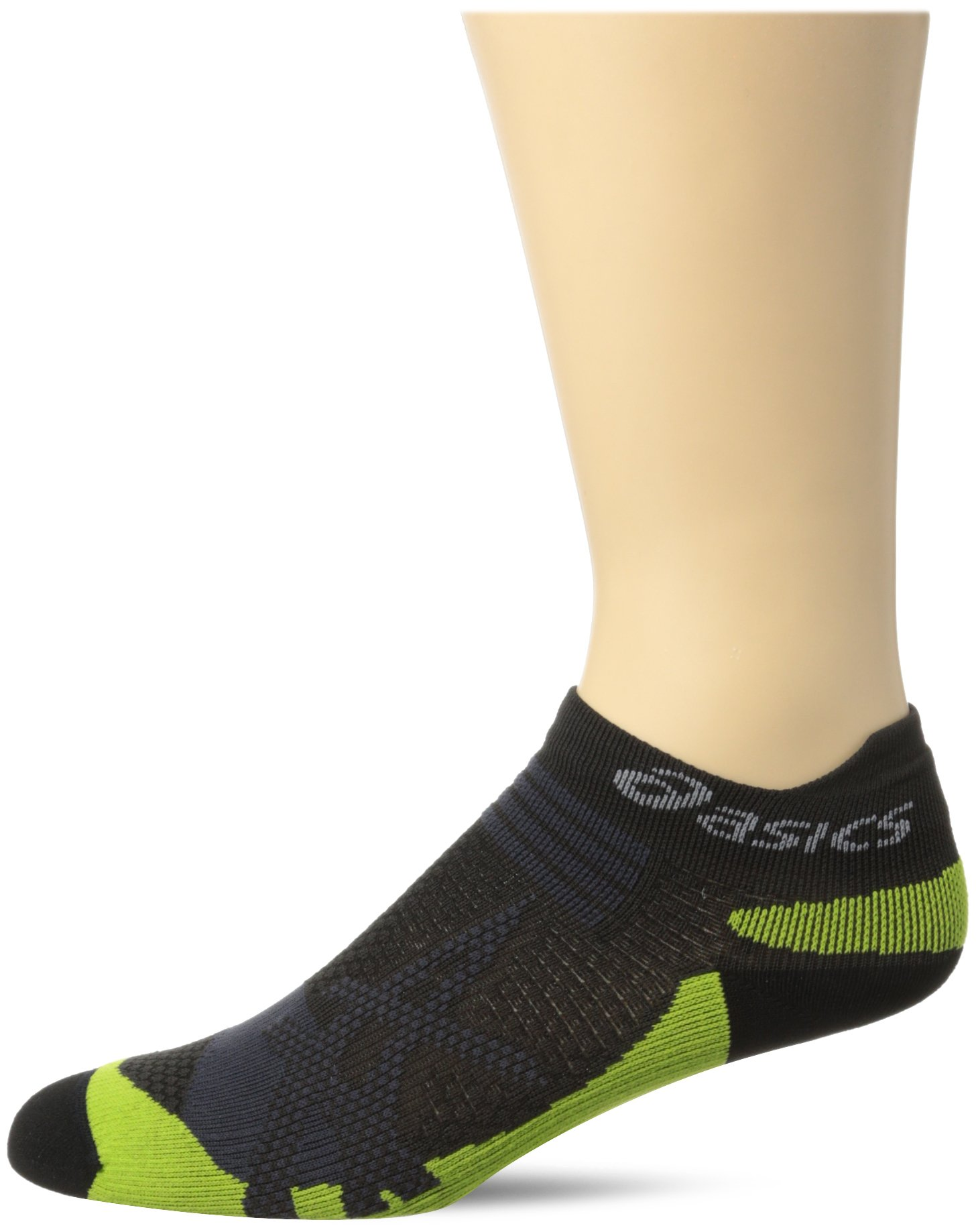 ASICS Kayano Single Tab Sock, Black, Small by ASICS