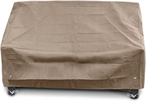 KoverRoos III 39550 Deep Highback Loveseat/Sofa Cover, 60-Inch Width by 35-Inch Diameter by 35-Inch Height, Taupe