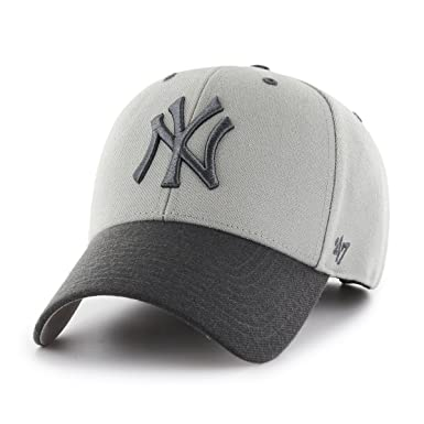 Image Unavailable. Image not available for. Colour  47 Brand New York  Yankees Two Tone MVP Cap - Grey d4ef1253691e0