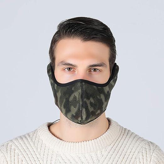 Tweal Invierno Protección Caliente Máscara Anti-frío de Invierno ...