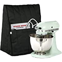 Homai Dust Cover Compatible with 5/6/7/8 Quart KitchenAid Stand Mixer, Cloth Cover with Pockets for Extra Attachments…