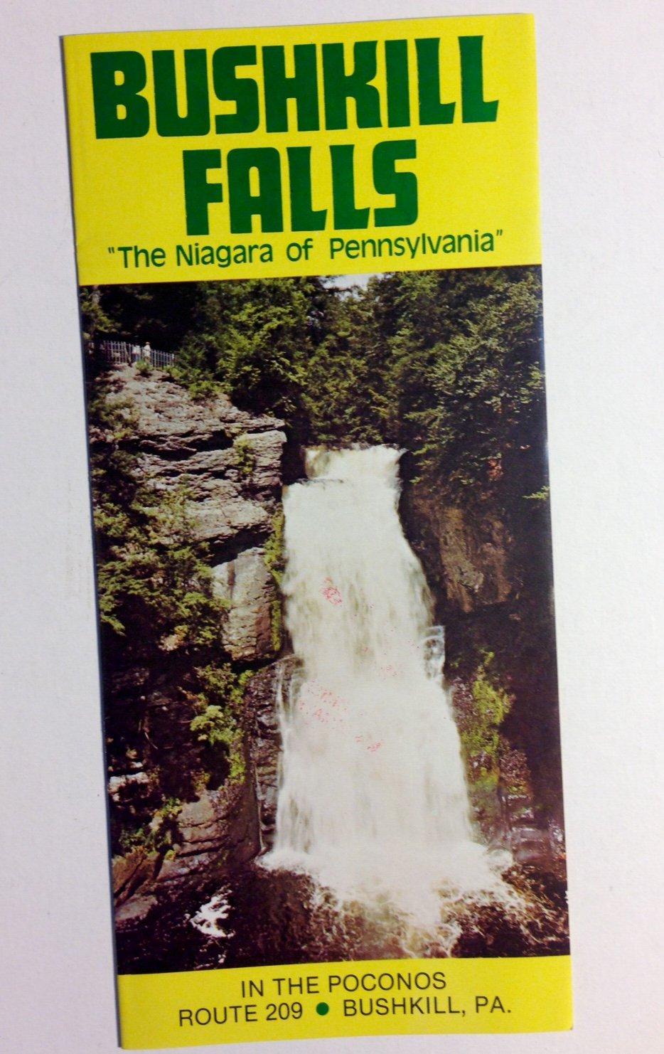 Amazon.com: Vintage Original Brochure Bushkill Falls Poconos ... on route 11 pa map, route 33 pa map, route 220 pa map, route 611 pa map, route 100 pa map, route 83 pa map, route 309 pa map, route 29 pa map, route 82 pa map, route 51 pa map, route 15 pa map, route 23 pa map,