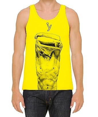 Iacobuccyounes Freedom Freiheit Überheblichkeit Nude Model Design Baumwolle  100% Made in Italy Unterhemd Herren Mann Damen Frau Unisex Gay Perfekt  Geschenk ...