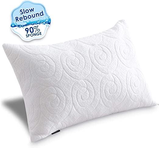 Bed Pillows Agedate Adjustable Down Alternative For Sleeping Hypoallergenic To