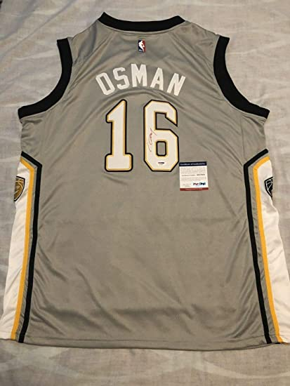 huge selection of 1db8d fc625 Cedi Osman Autographed Signed Memorabilia Cleveland ...