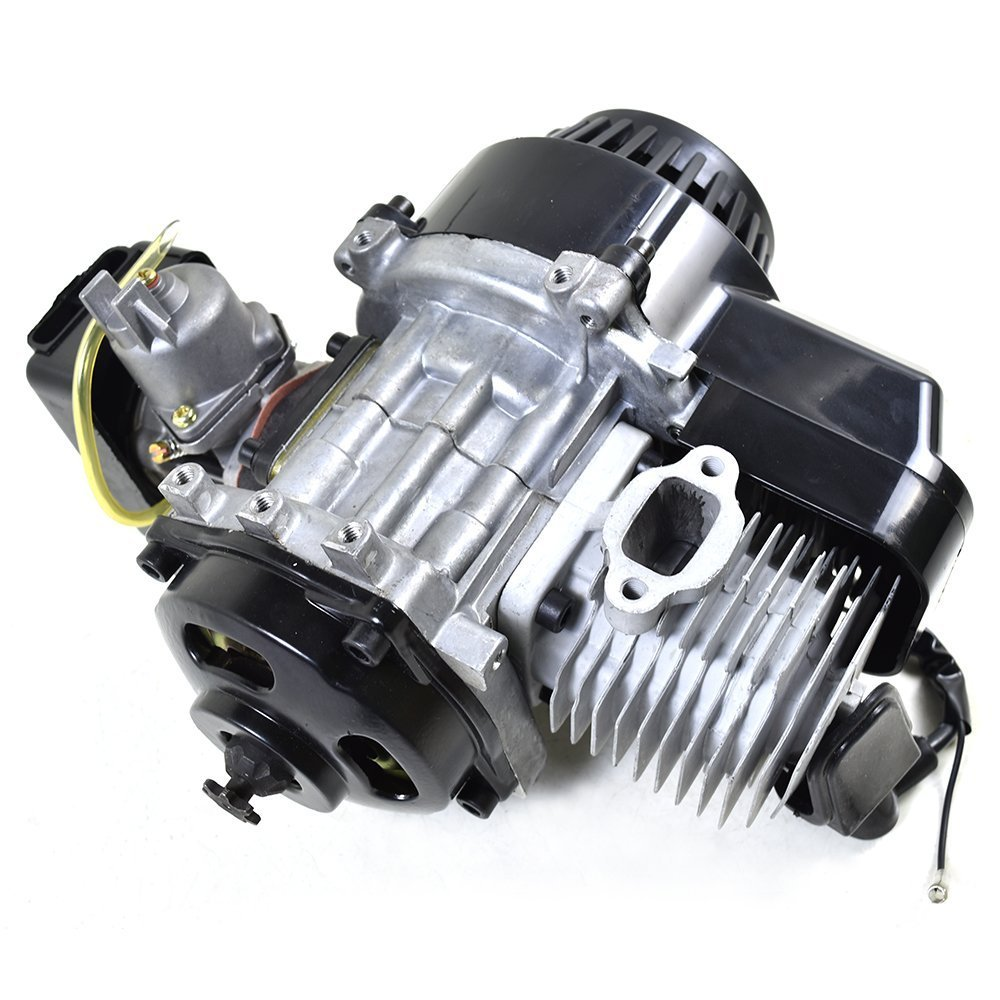 ZXTDR 47cc 49cc 2 stroke Engine Motor for Mini Pocket Bike Scooter Dirt Bikes ATV Quad Motorized Bicycle