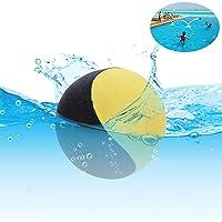 Edealing Water Bouncing Ball per piscina e mare - Fun Water Sports Game per famiglia e amici - Anti-cracking Soft and Strong Bounce - 2.17 Inch (giallo)