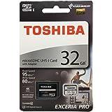 32GB TOSHIBA 東芝 microSDHCカード EXCERIA PRO M401 UHS-I U3対応 R:95MB/s W:80MB/s 海外リテール THN-M401S0320A2 [並行輸入品]