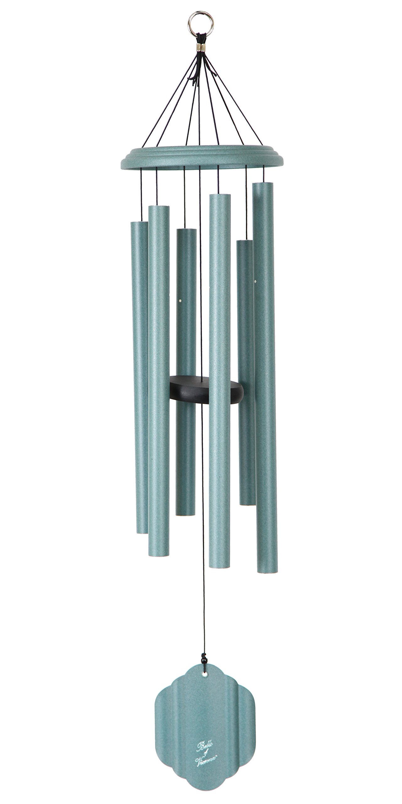 Bells of Vienna 36-inch Windchime, Patina Green