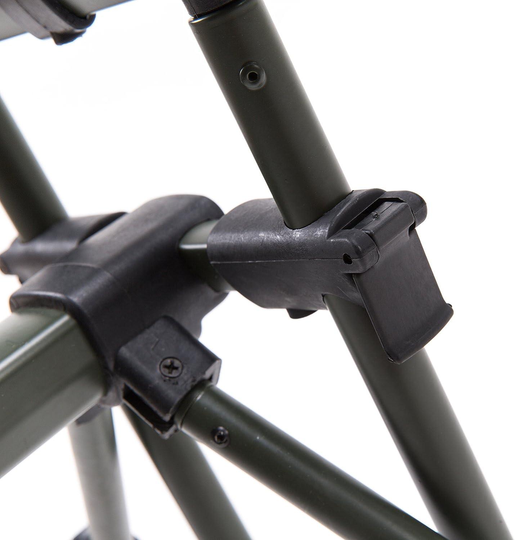 Croch Master Rod Pod Rutenhalter Aluminium Deluxe f/ür 3 Ruten inkl Rutenauflagen Tasche