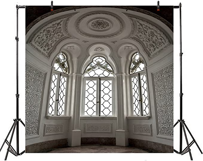 7x5ft Old House Background Gothic Building Photography Backdrops Photo Studio Props DSFU151