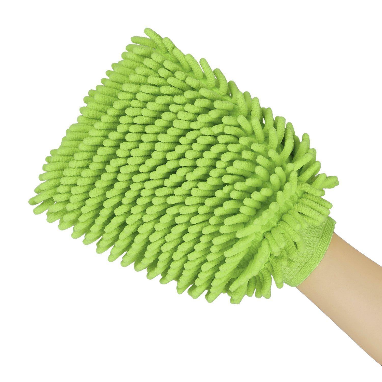 Car Wash Mitts, Chenille Microfiber Wash Sponge