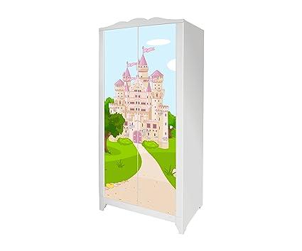Ikea Guardaroba Per Bambini.Fairyland Adesivi Mobili Sticker Per Il Guardaroba Hensvik Bambini