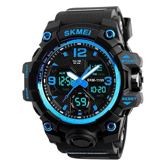 6f25804d5bec Reloj Deportivo Digital y Analógico Para Hombre