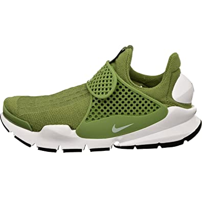 low cost 115ab d0124 Nike Womens Sock Dart Running Trainers 848475 Sneakers Shoes (US 8, Palm  Green White