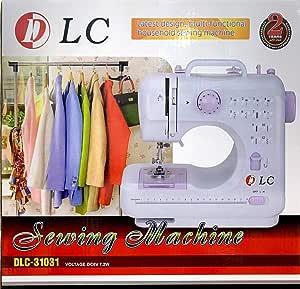 ماكينة خياطة كهربائية محمولة من دي ال سي
