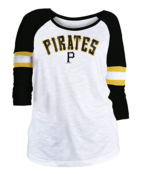 Amazon Com New Era Pittsburgh Pirates Women S Mlb Baseball 3 4