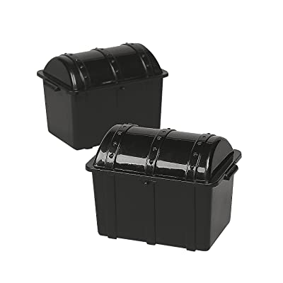 Pirate Treasure Chests (set of 12) Party Supplies: Toys & Games