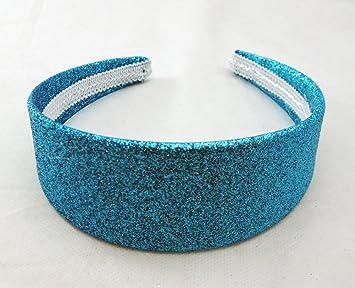 Amazon.com   Blue Glitter Headband 1-3 4