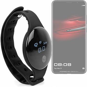 DURAGADGET Reloj/Pulsera de Actividad Unisex en Color Negro, con ...