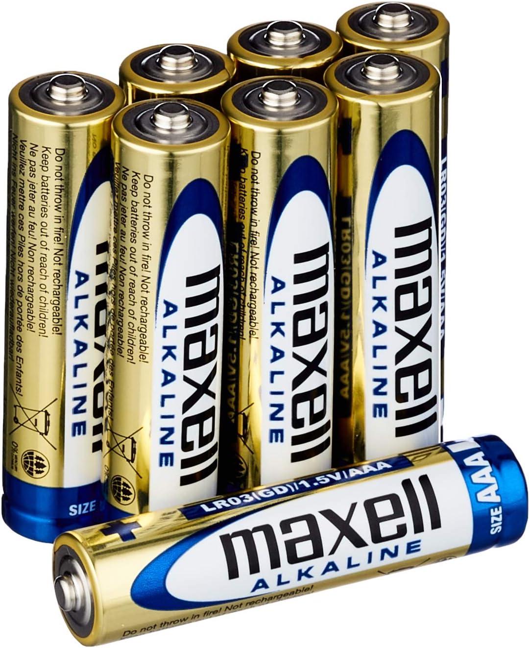 Maxell Lr03 Aaa Micro Alkaline Batterien Elektronik