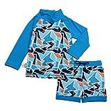 JAN & JUL Baby Newborn UPF 50+ Swim-wear Rash Guard