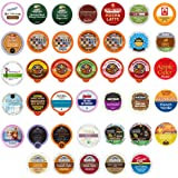 Coffee Tea and Hot Chocolate Variety Sampler Pack for Keurig K-Cup Brewers 40 Count