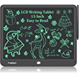 Fverey LCD Writing Tablet, 15 Inch Large Doodle Board,Drawing Tablet Educational Toys for Boys and Girls,Electronic…