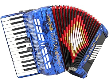 D luca d3048-bk Grand Piano acordeón 3 interruptores 30 ...