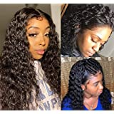 13x4 Lace Front Wigs Human Hair Wigs for Black Women Human Hair Lace Frontal Wigs Pre Plucked with Baby Hair 150% Density Wat