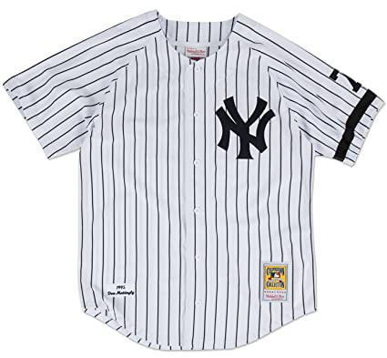 d15a5431 Don Mattingly New York Yankees Mitchell & Ness Authentic MLB 1995 Home  Jersey (XXL/