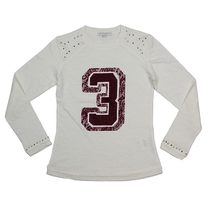 Silvian Heach Kids T-Shirt Manica Lunga Bambina Cabal MDJI4104TS Graphic  Tee 8-Anni Panna  Amazon.it  Abbigliamento 0646d55eafb