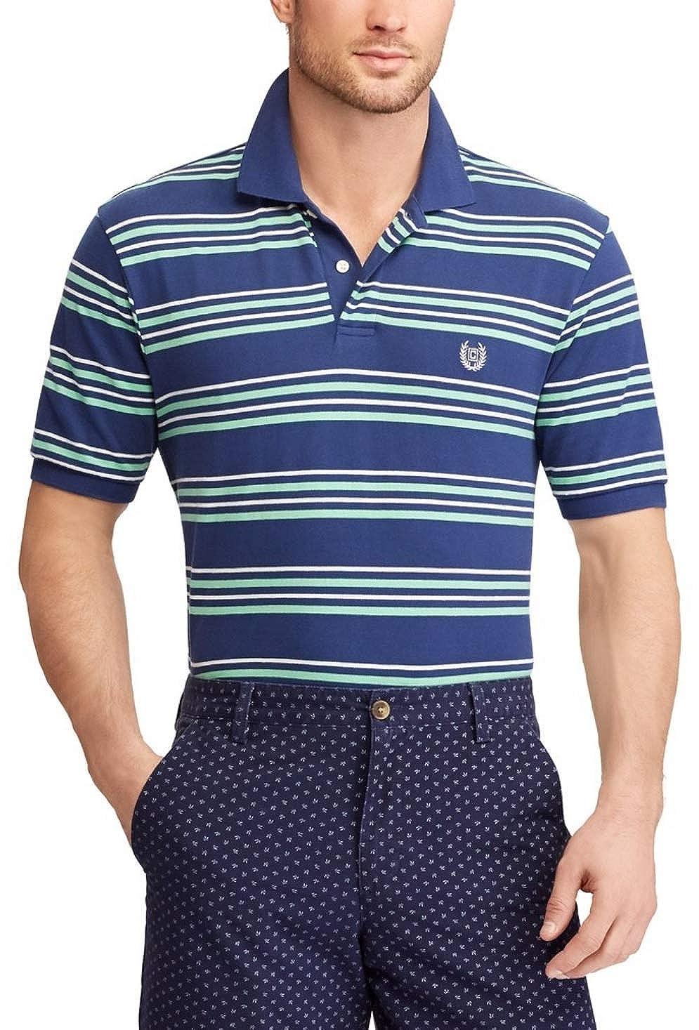 a2064cb4 Chaps Men's Classic Fit Cotton Mesh Polo Shirt at Amazon Men's Clothing  store: