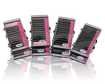 7072951fda6 Amazon.com : Single Eyelashes Kit   8 Individual Eyelash Trays   Mink  Eyelash Extension Supplies : Fake Eyelashes And Adhesives : Beauty